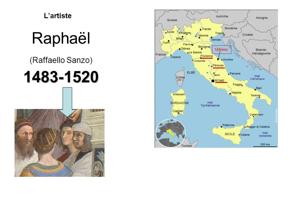 Raphaël (Raffaello Sanzo) 1483-1520