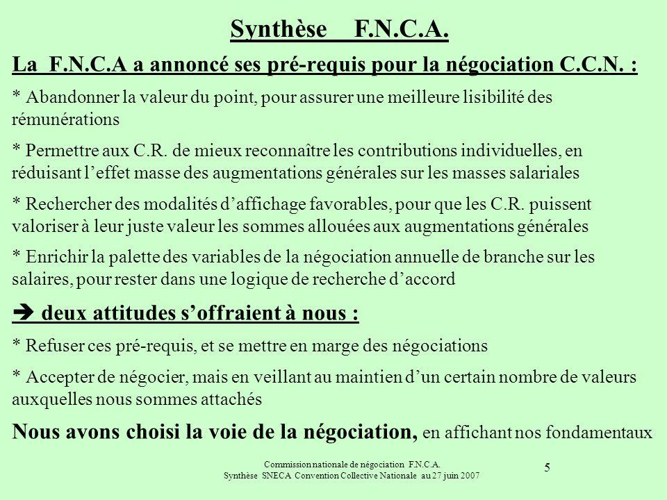 Synthèse F.N.C.A.