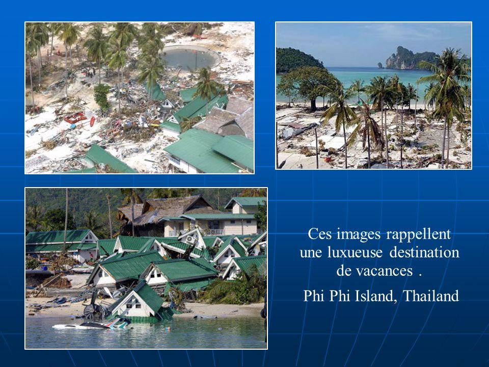 Ces images rappellent une luxueuse destination de vacances .