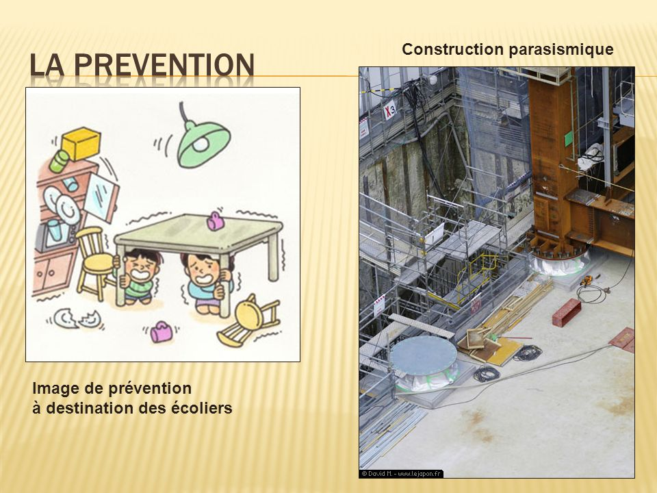 La prevention Construction parasismique Image de prévention