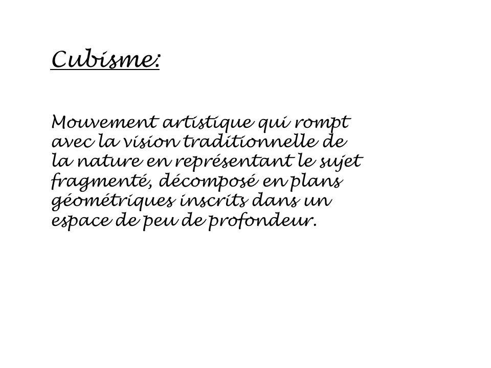 Cubisme: