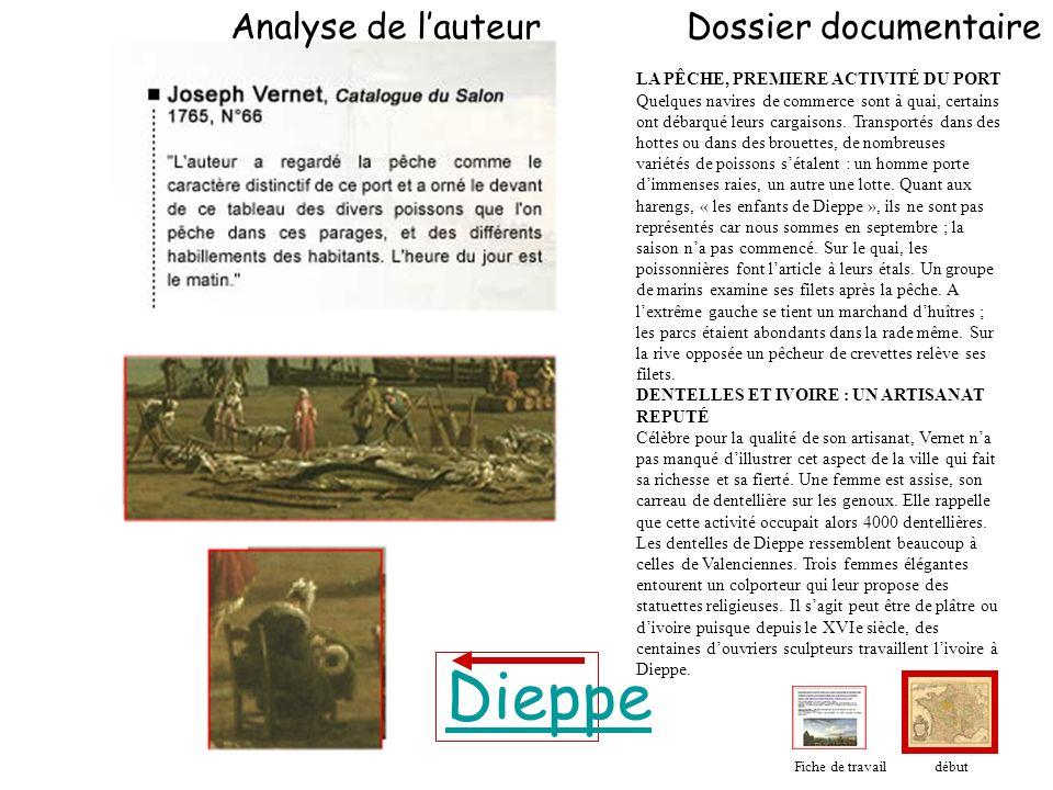 Dieppe Analyse de l'auteur Dossier documentaire