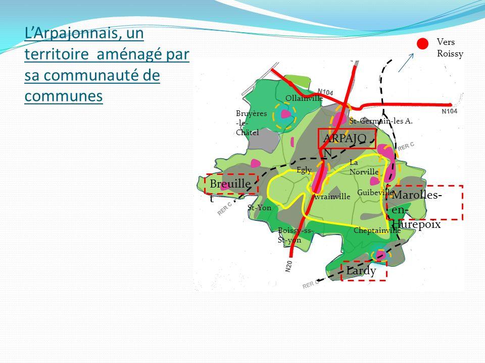 L'Arpajonnais, un territoire aménagé par sa communauté de communes