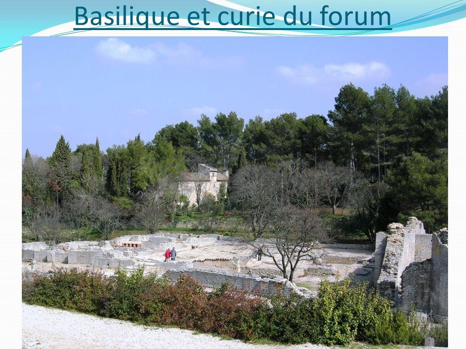 Basilique et curie du forum