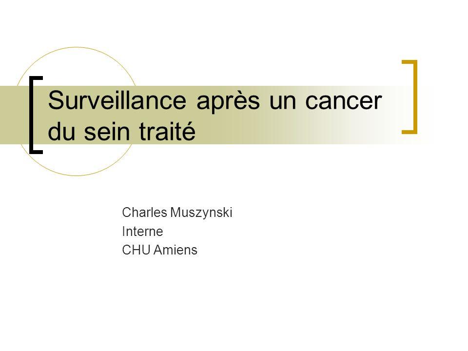 Surveillance après un cancer du sein traité