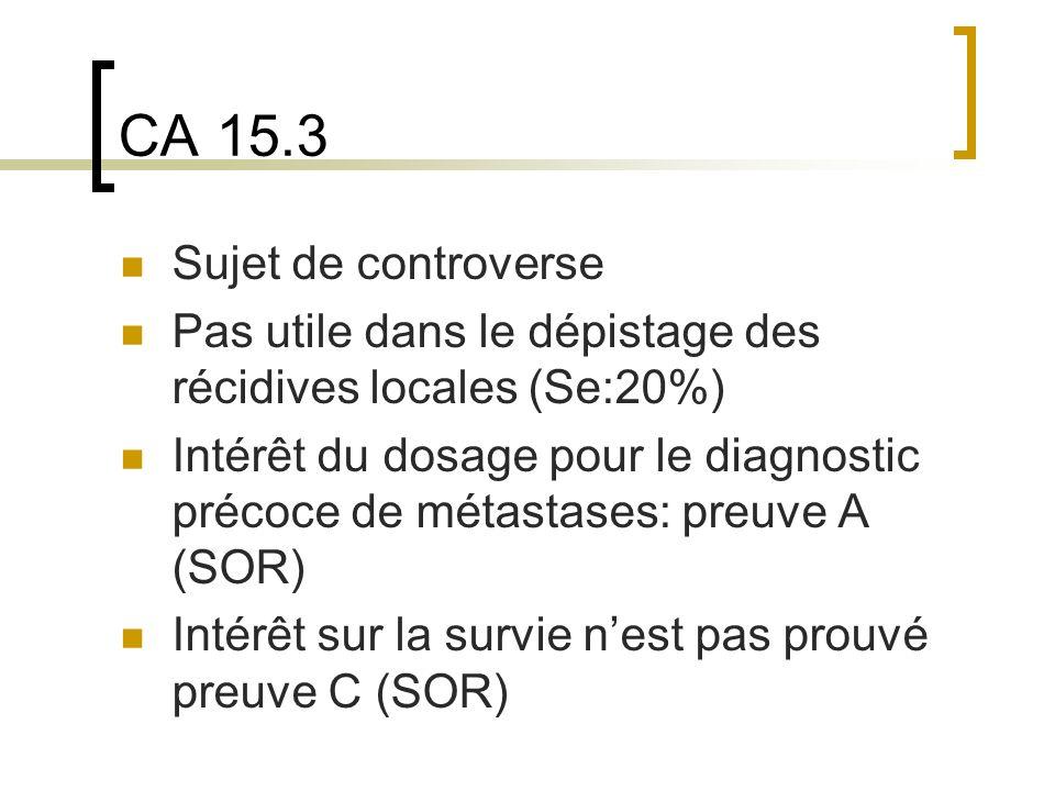 CA 15.3 Sujet de controverse