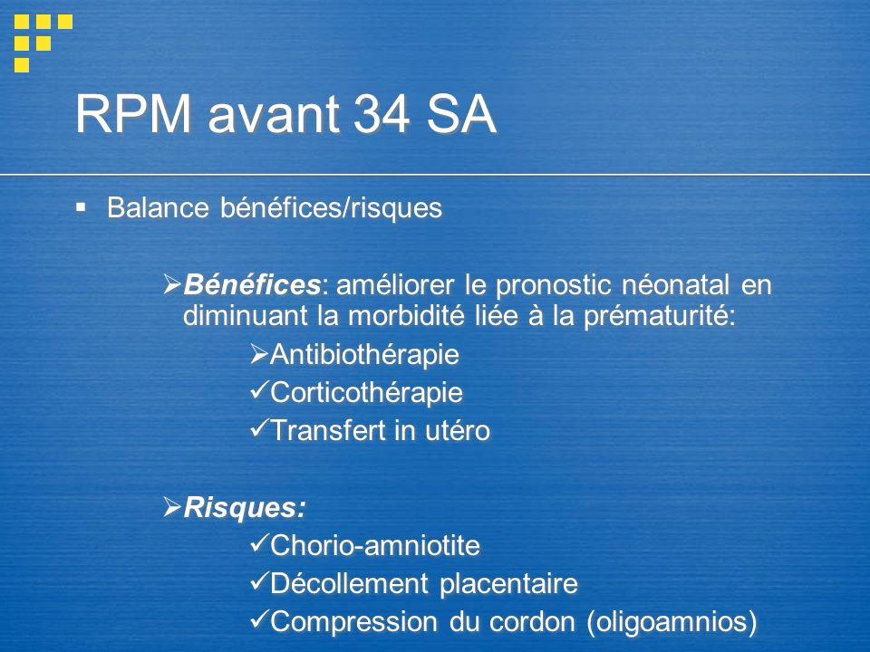 RPM avant 34 SA Balance bénéfices/risques