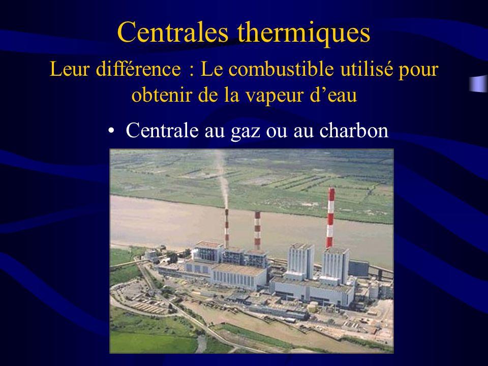 Centrale au gaz ou au charbon