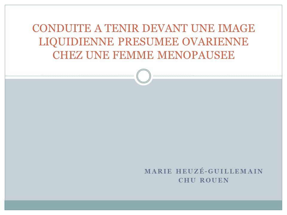 Marie Heuzé-Guillemain CHU Rouen
