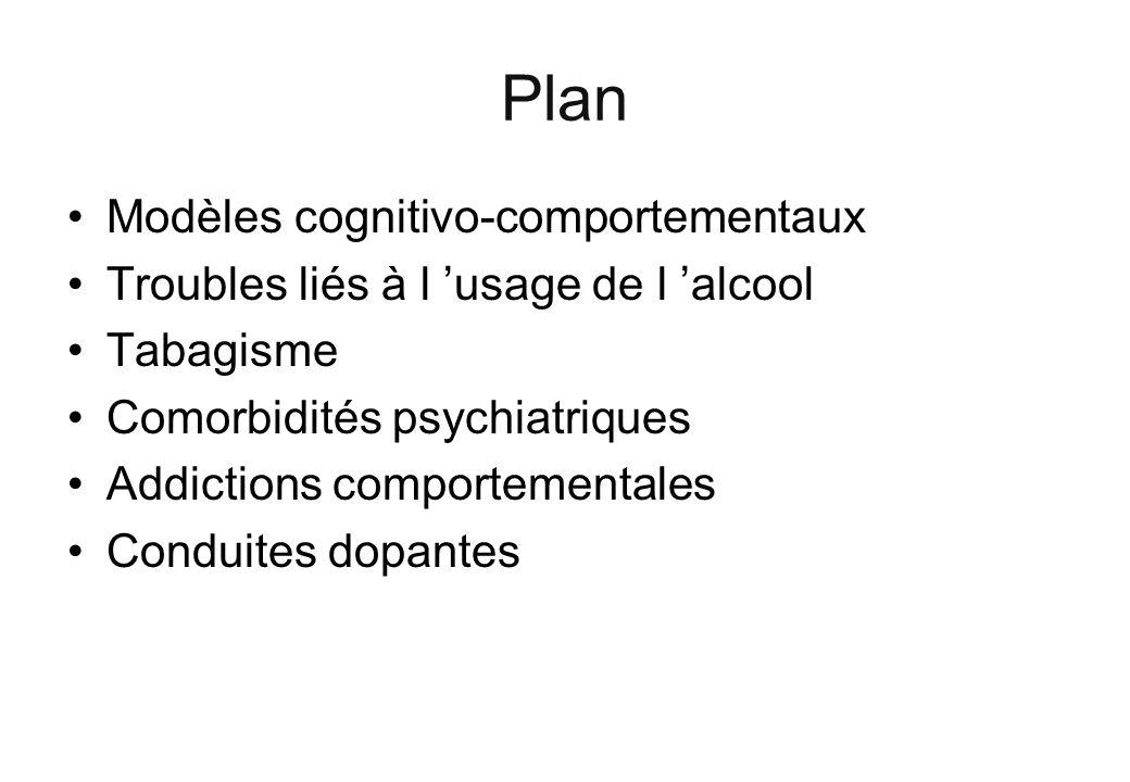 Plan Modèles cognitivo-comportementaux