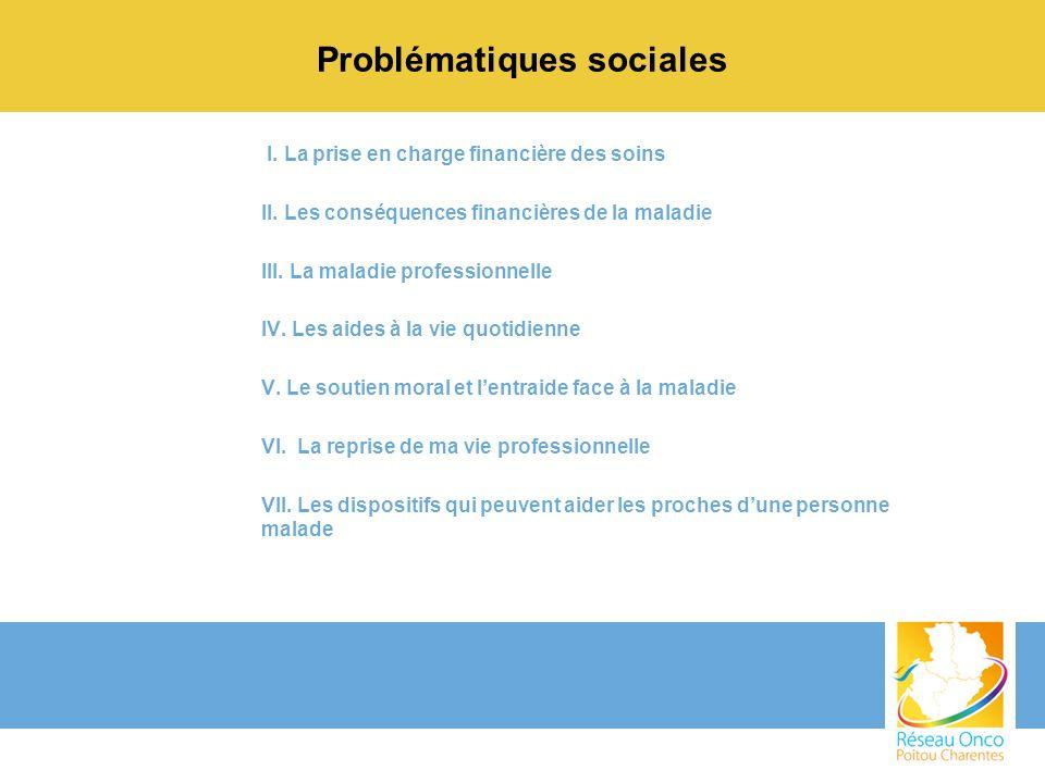 Problématiques sociales