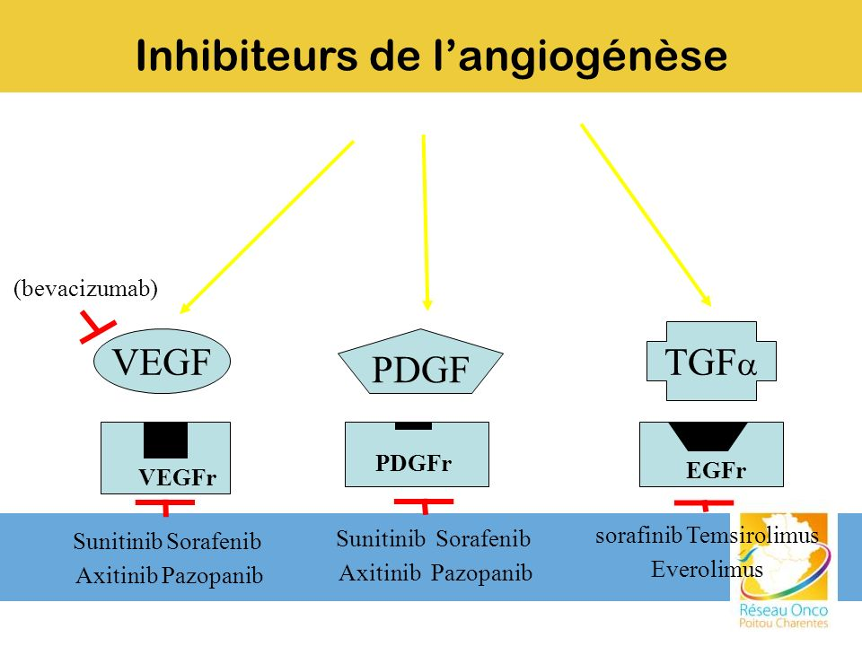 Inhibiteurs de l'angiogénèse