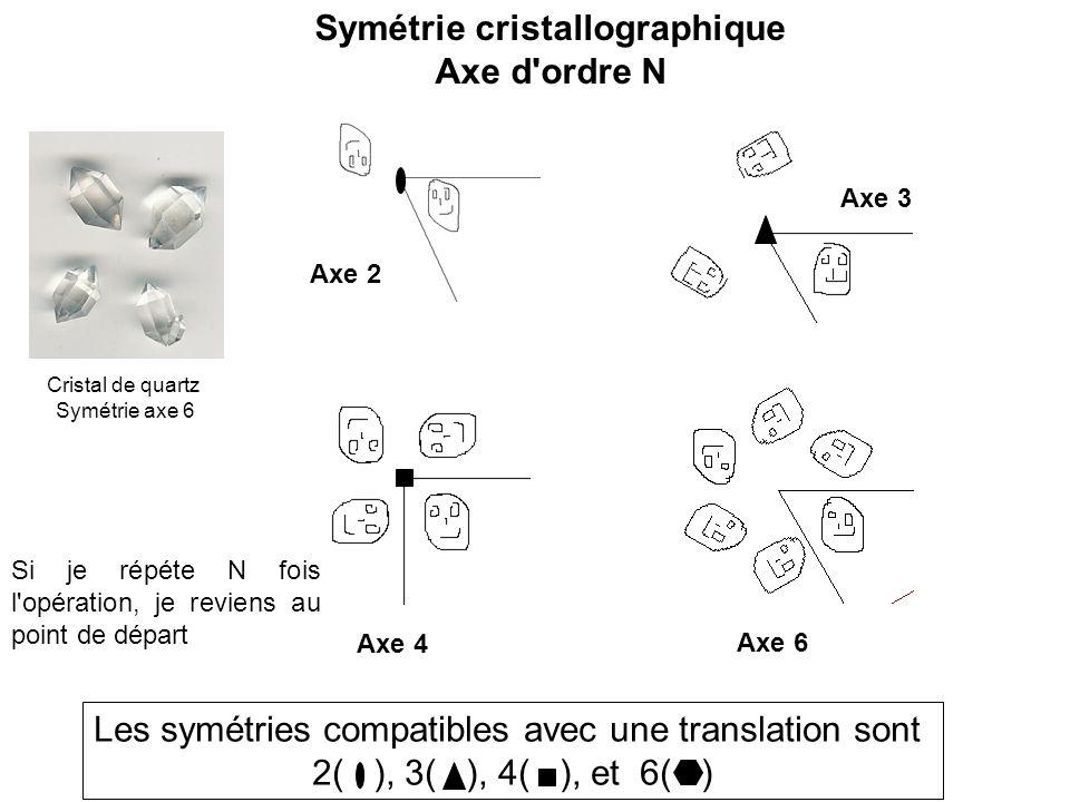 Symétrie cristallographique