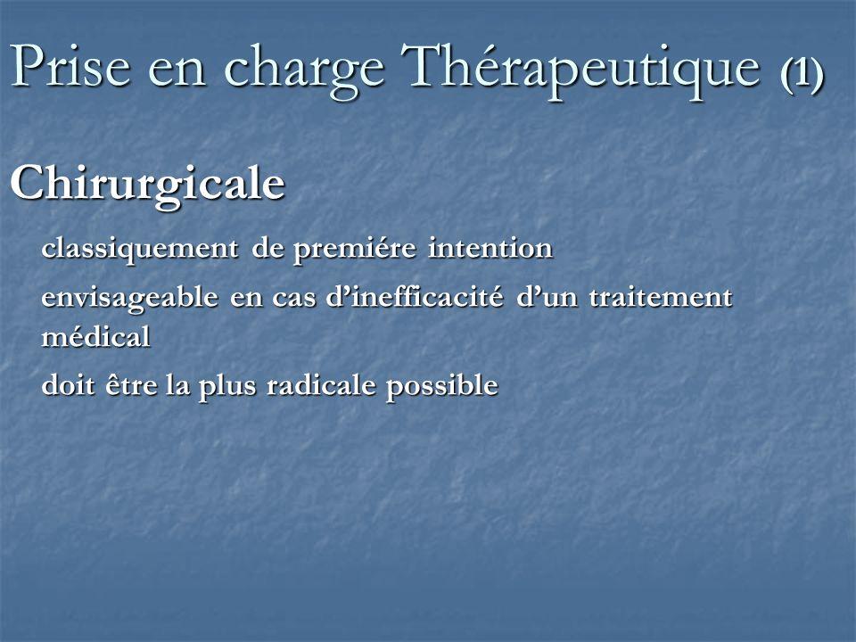 Prise en charge Thérapeutique (1)