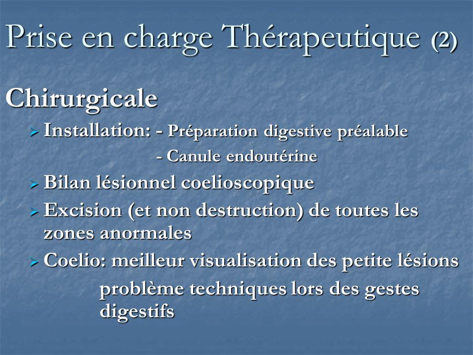 Prise en charge Thérapeutique (2)