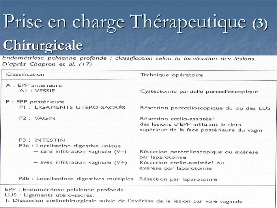 Prise en charge Thérapeutique (3)