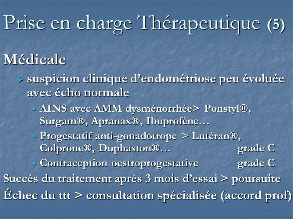 Prise en charge Thérapeutique (5)