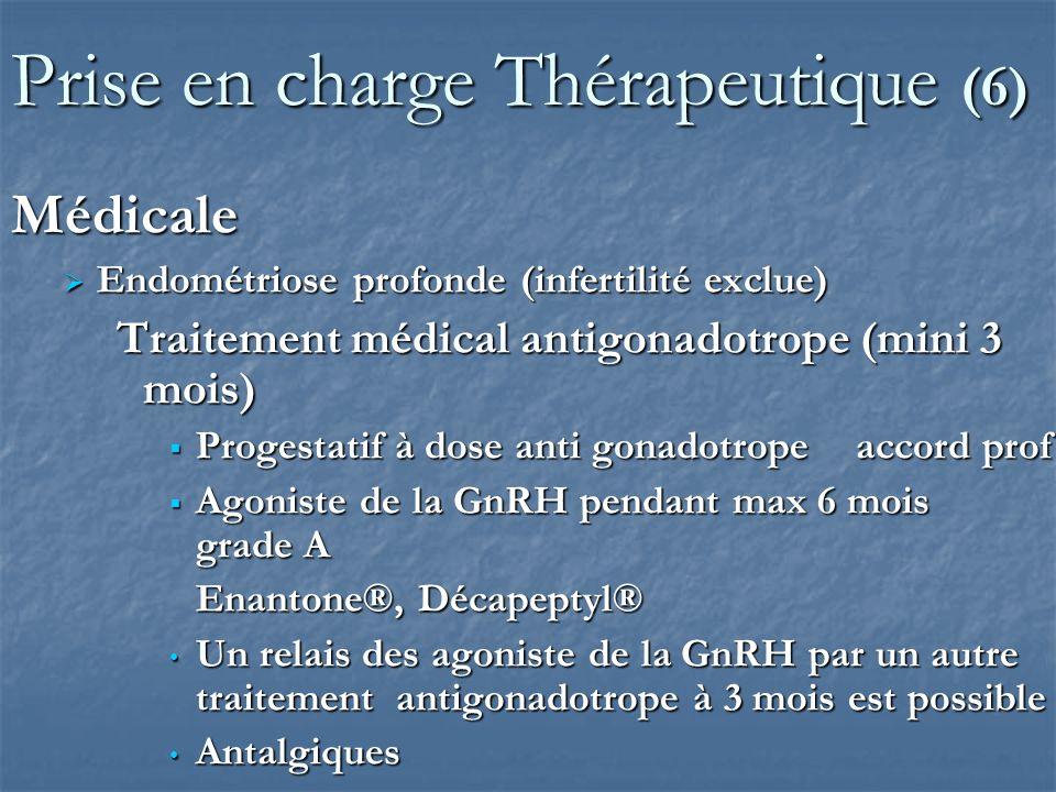 Prise en charge Thérapeutique (6)