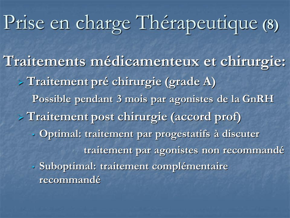 Prise en charge Thérapeutique (8)