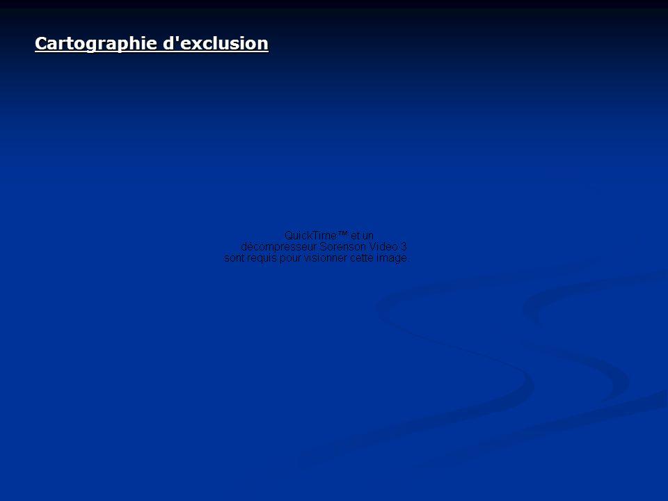 Cartographie d exclusion