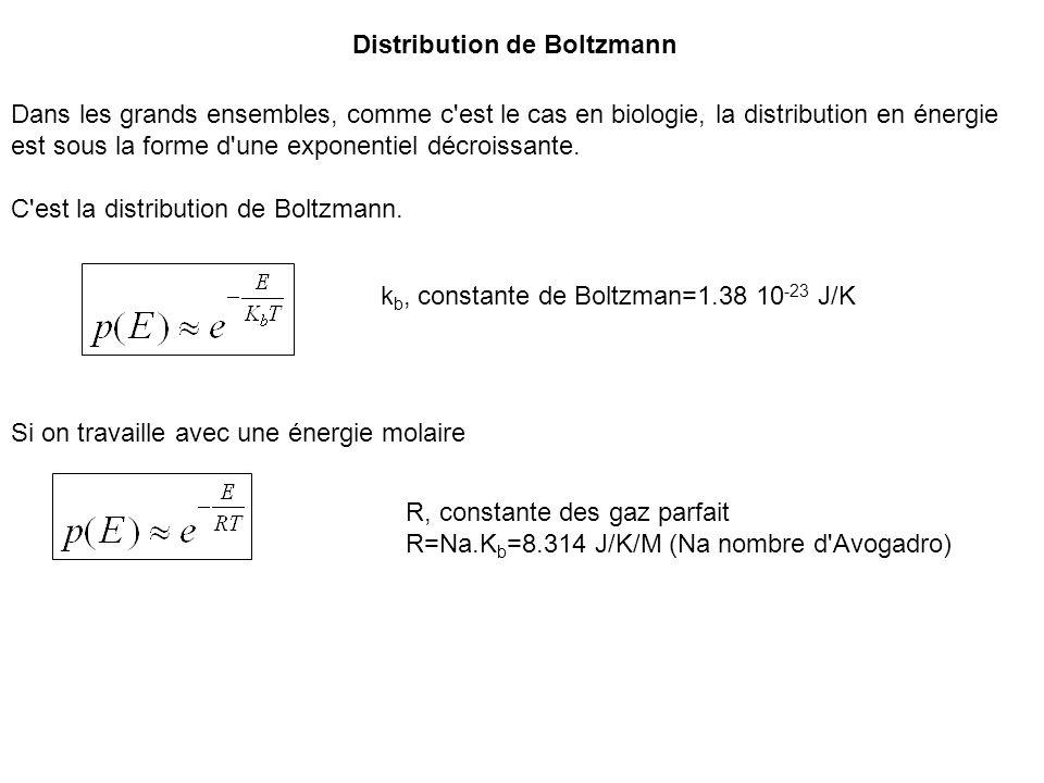 Distribution de Boltzmann