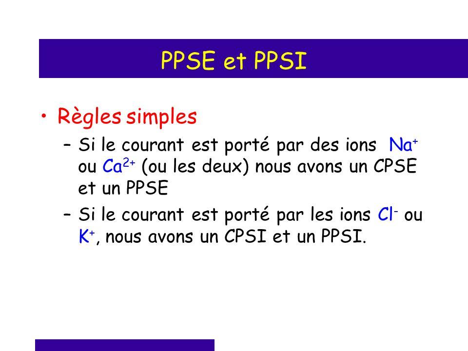 PPSE et PPSI Règles simples