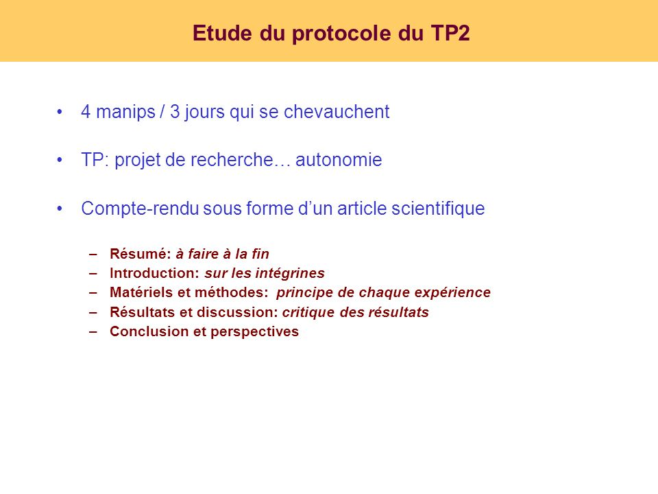 Etude du protocole du TP2