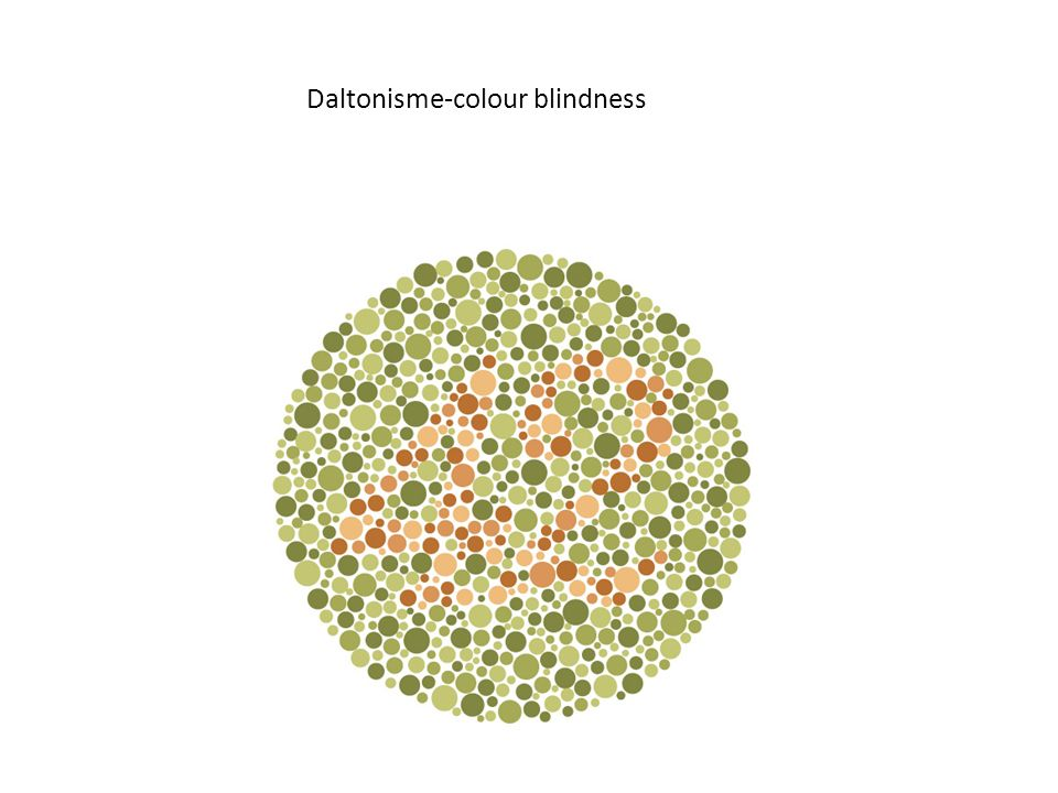 Daltonisme-colour blindness