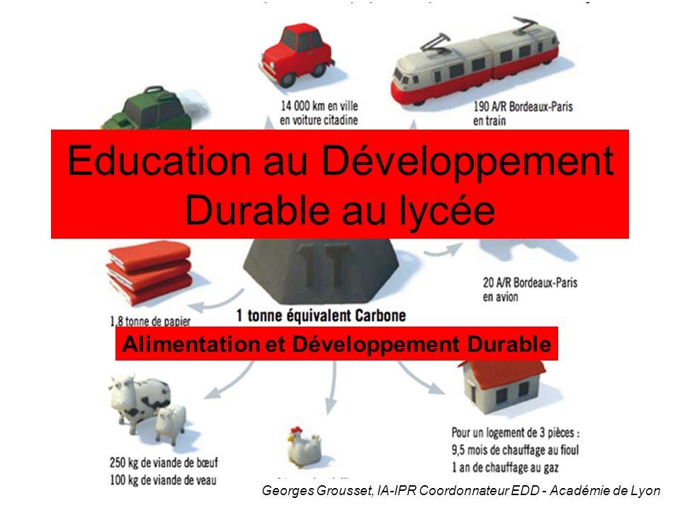 Education au Développement Durable au lycée