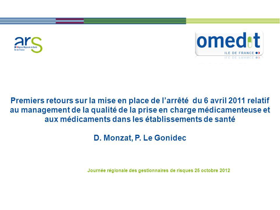 Journée régionale des gestionnaires de risques 25 octobre 2012
