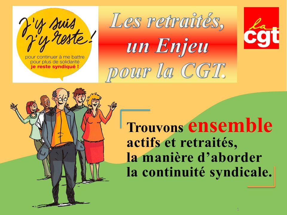 Les retraités, un Enjeu pour la CGT.