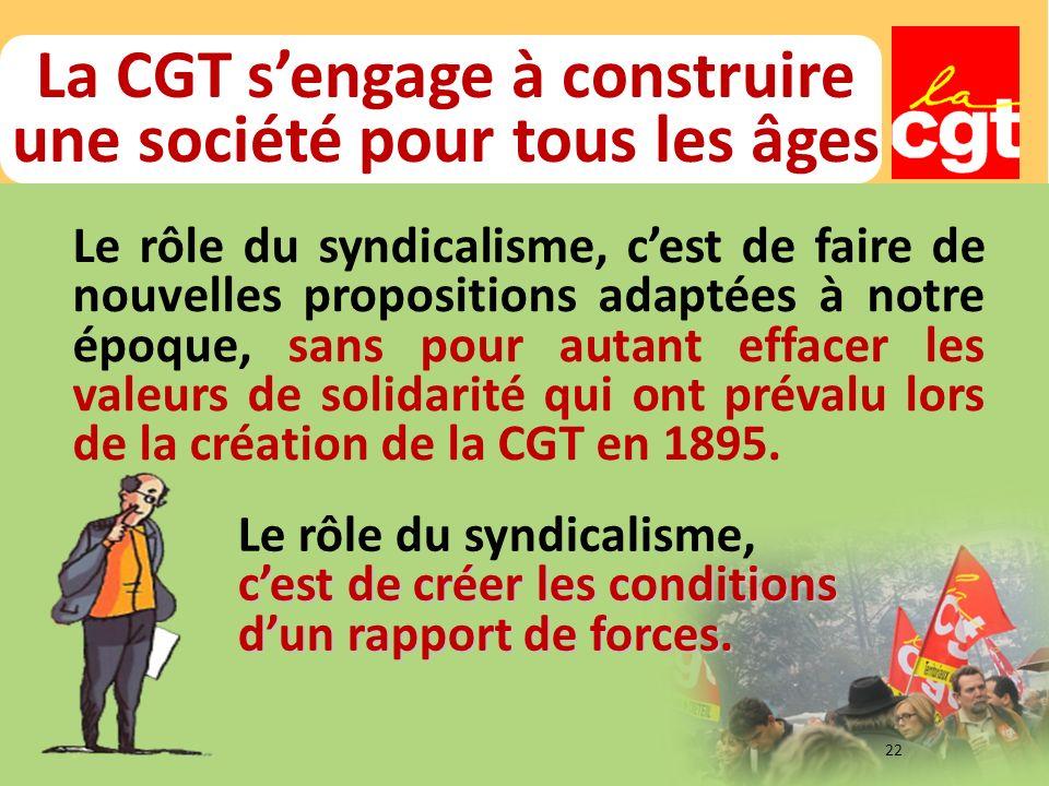 La CGT s'engage à construire une société pour tous les âges