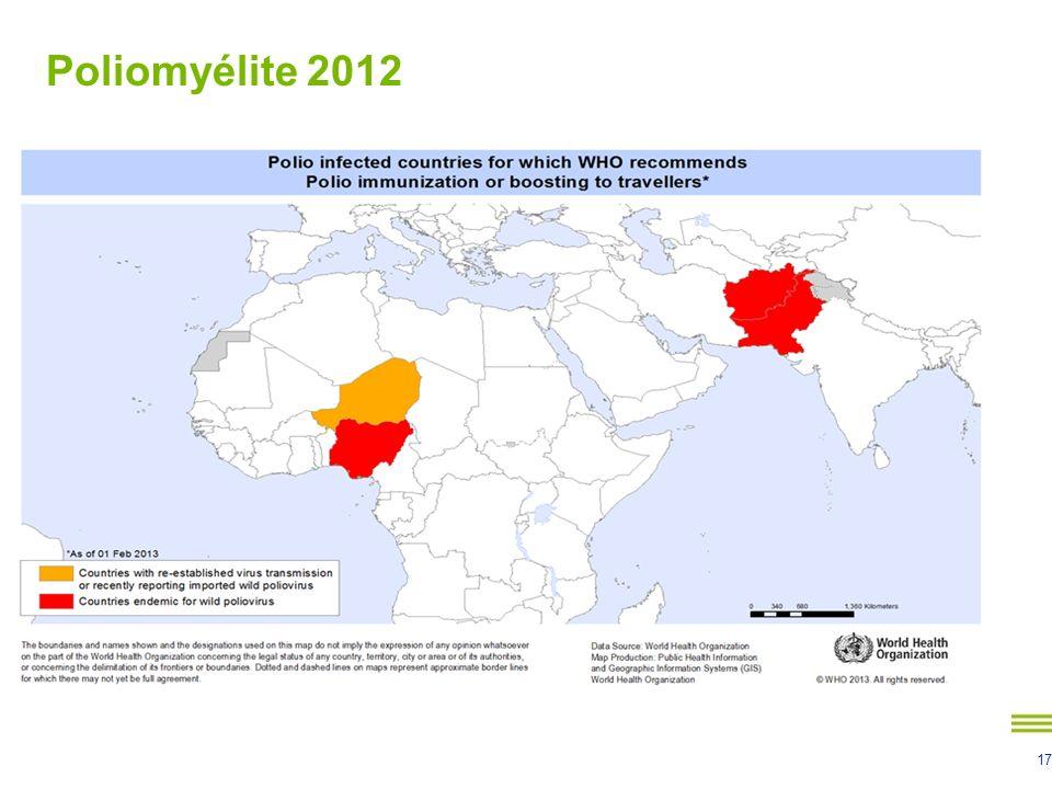 Poliomyélite 2012