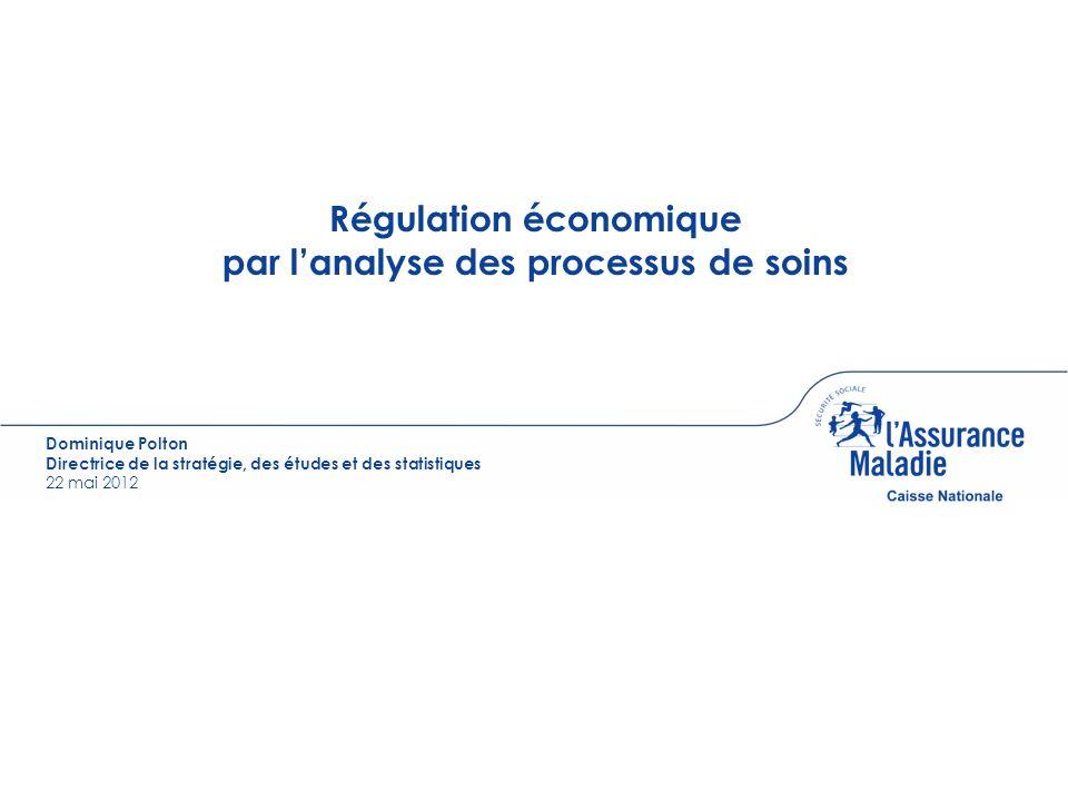 Régulation économique par l'analyse des processus de soins