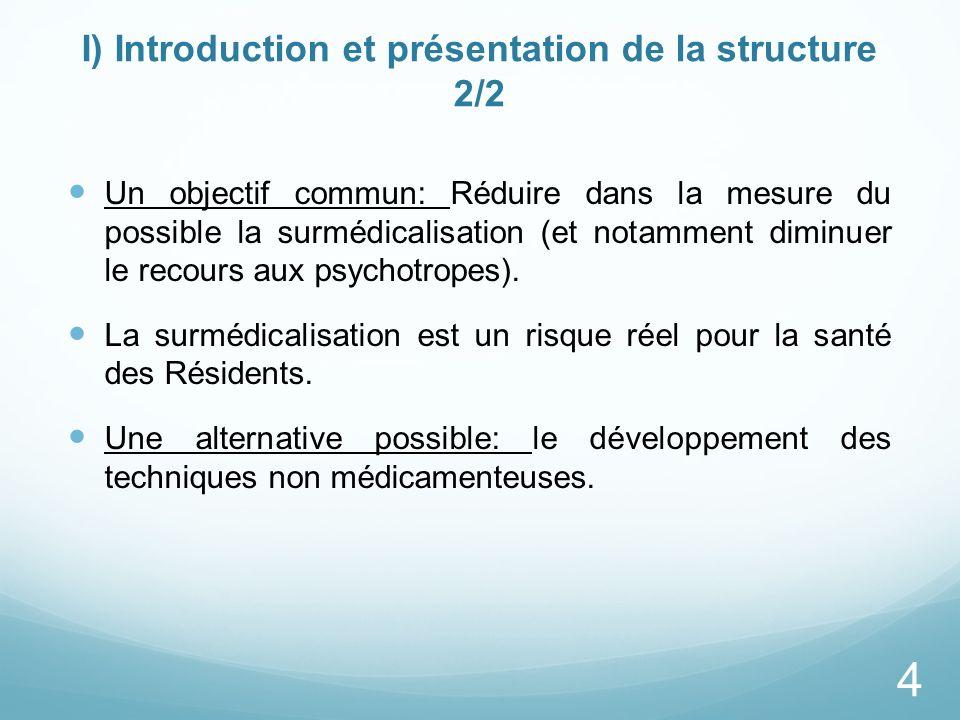 I) Introduction et présentation de la structure 2/2