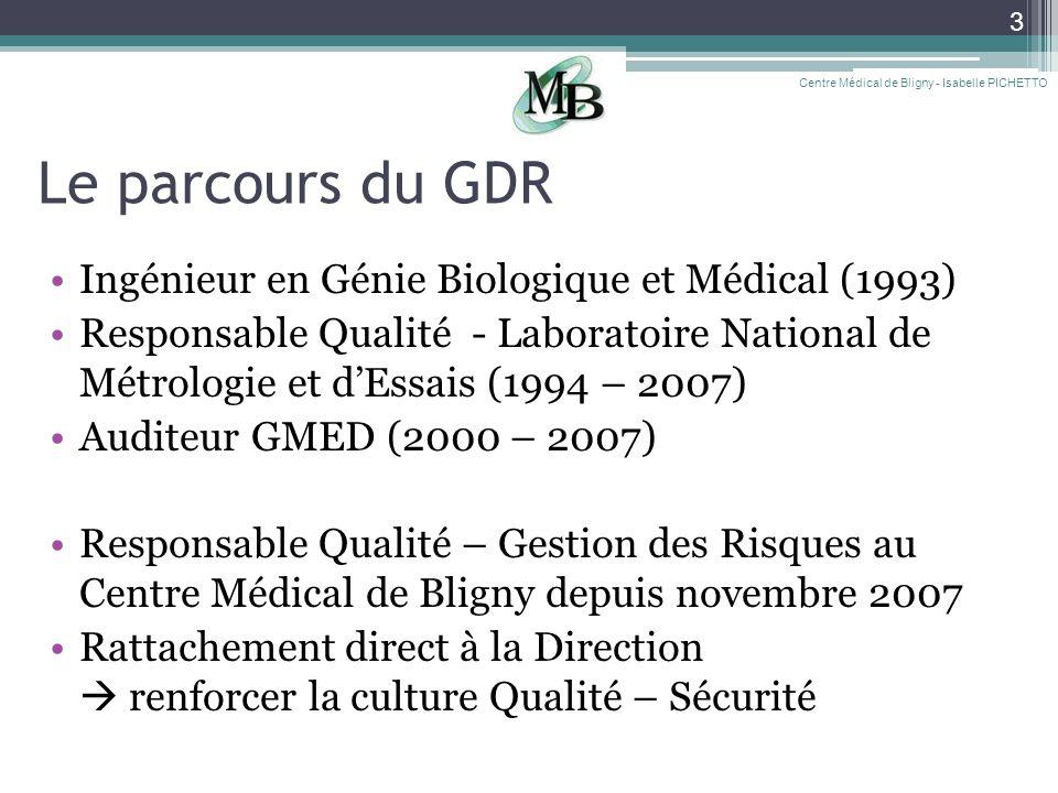 Le parcours du GDR Ingénieur en Génie Biologique et Médical (1993)
