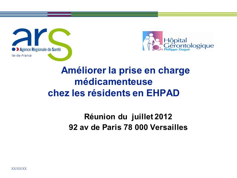 Réunion du juillet 2012 92 av de Paris 78 000 Versailles