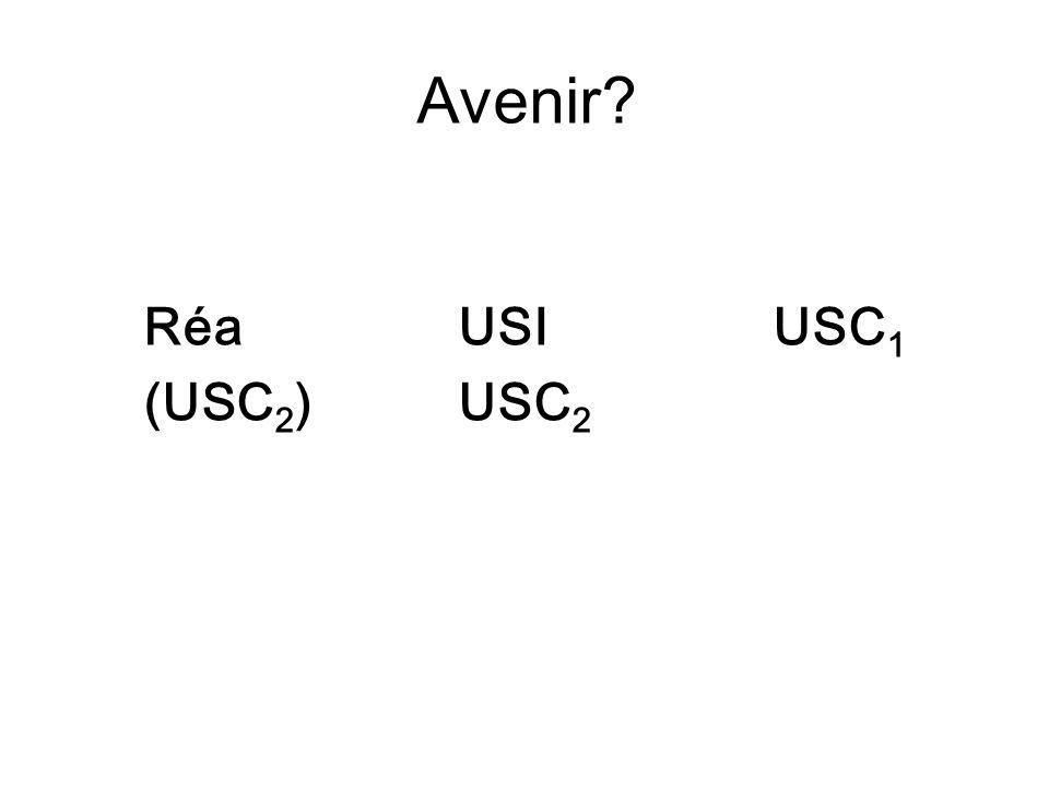 Avenir Réa USI USC1 (USC2) USC2