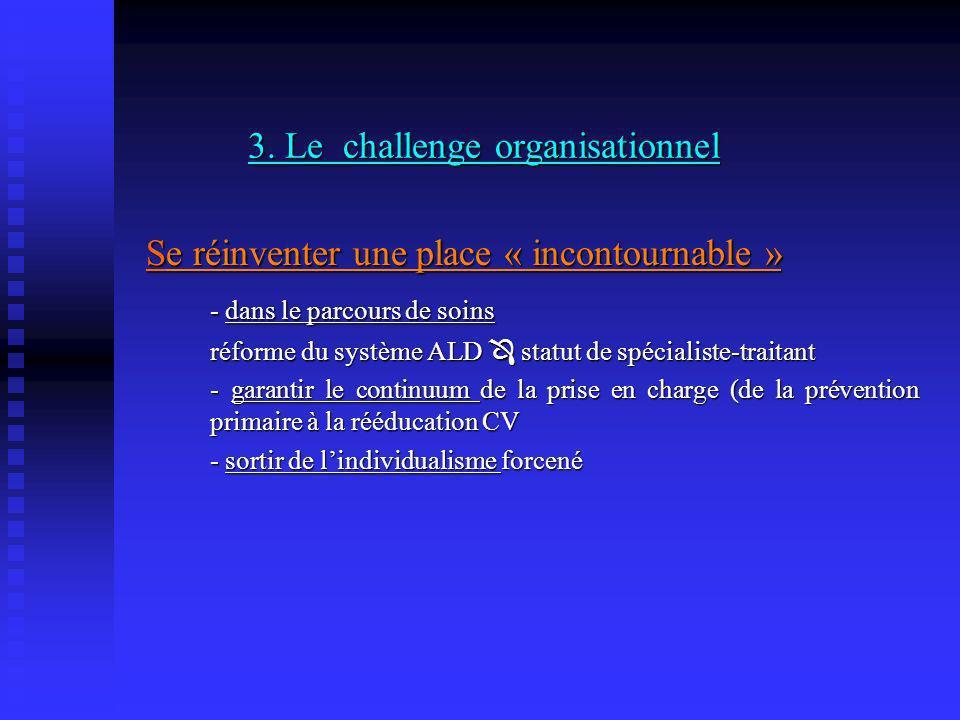 3. Le challenge organisationnel