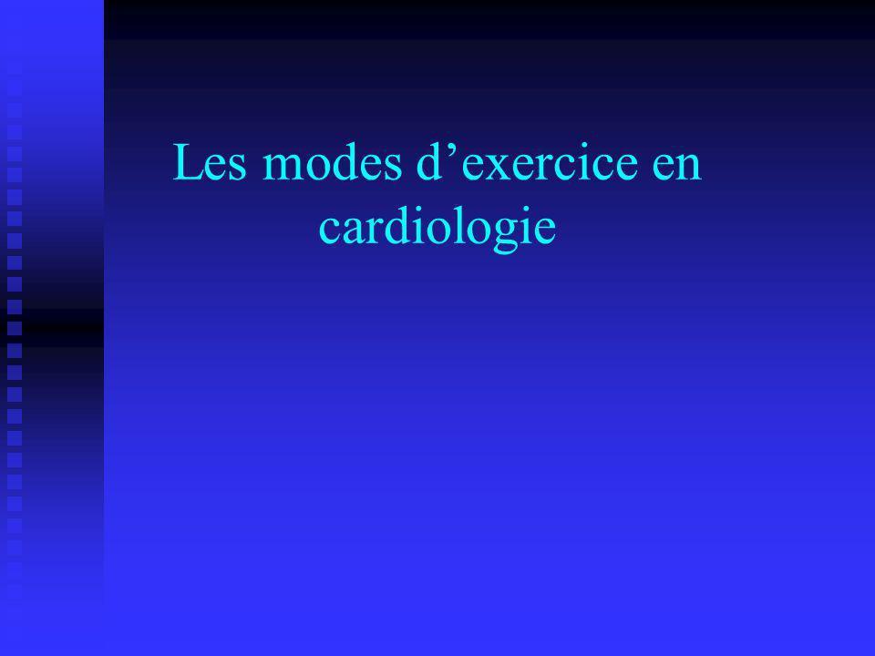 Les modes d'exercice en cardiologie