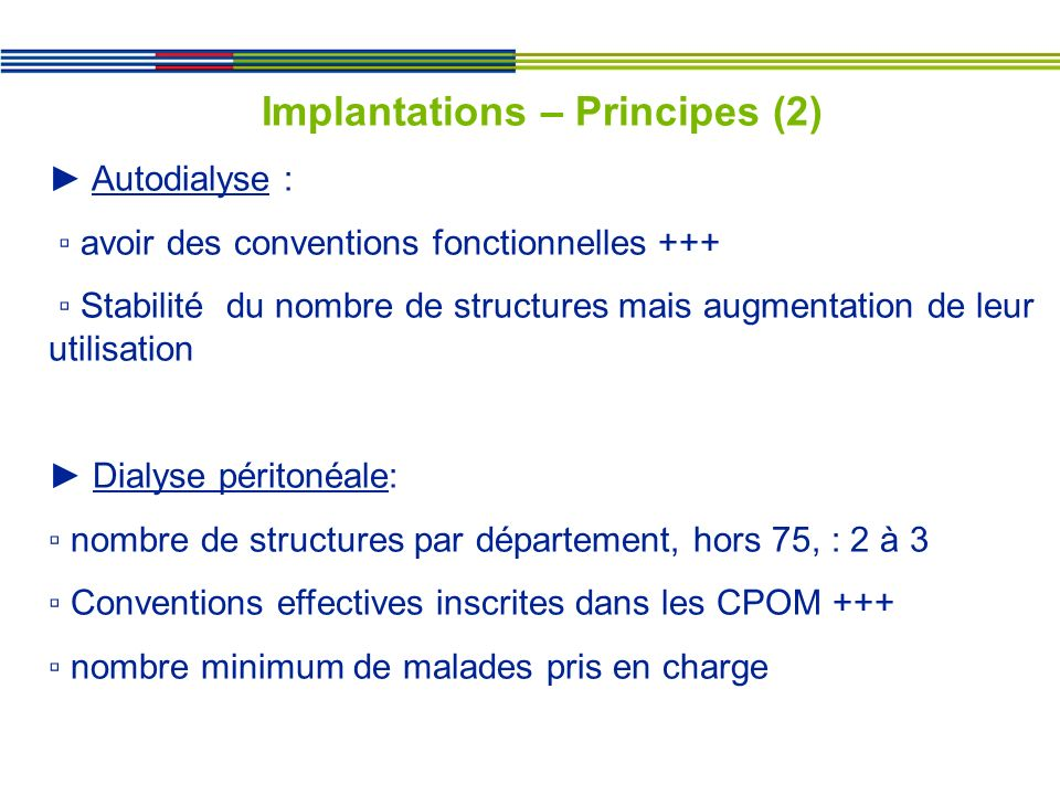 Implantations – Principes (2)