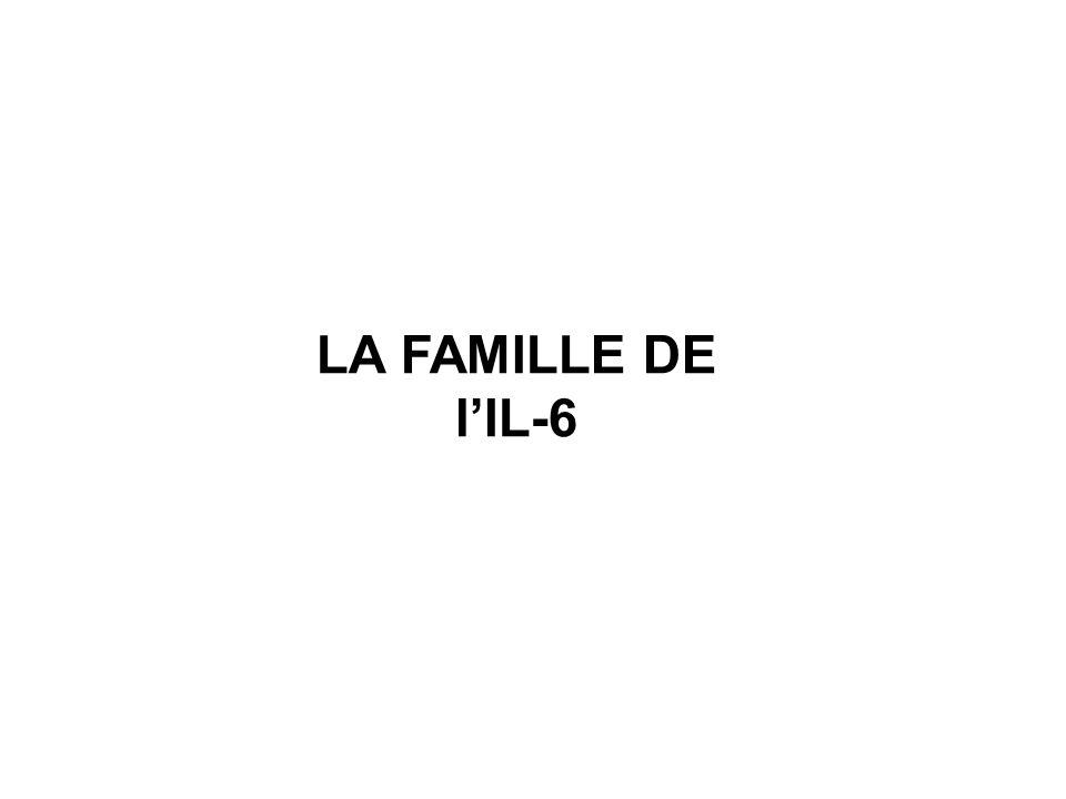 LA FAMILLE DE l'IL-6