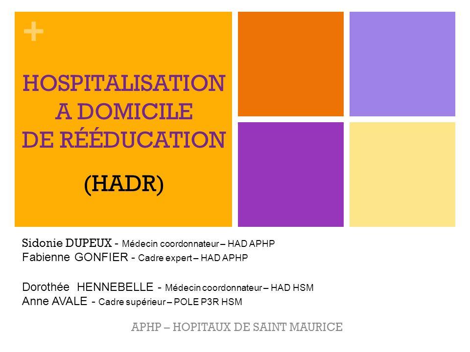 HOSPITALISATION A DOMICILE DE RÉÉDUCATION