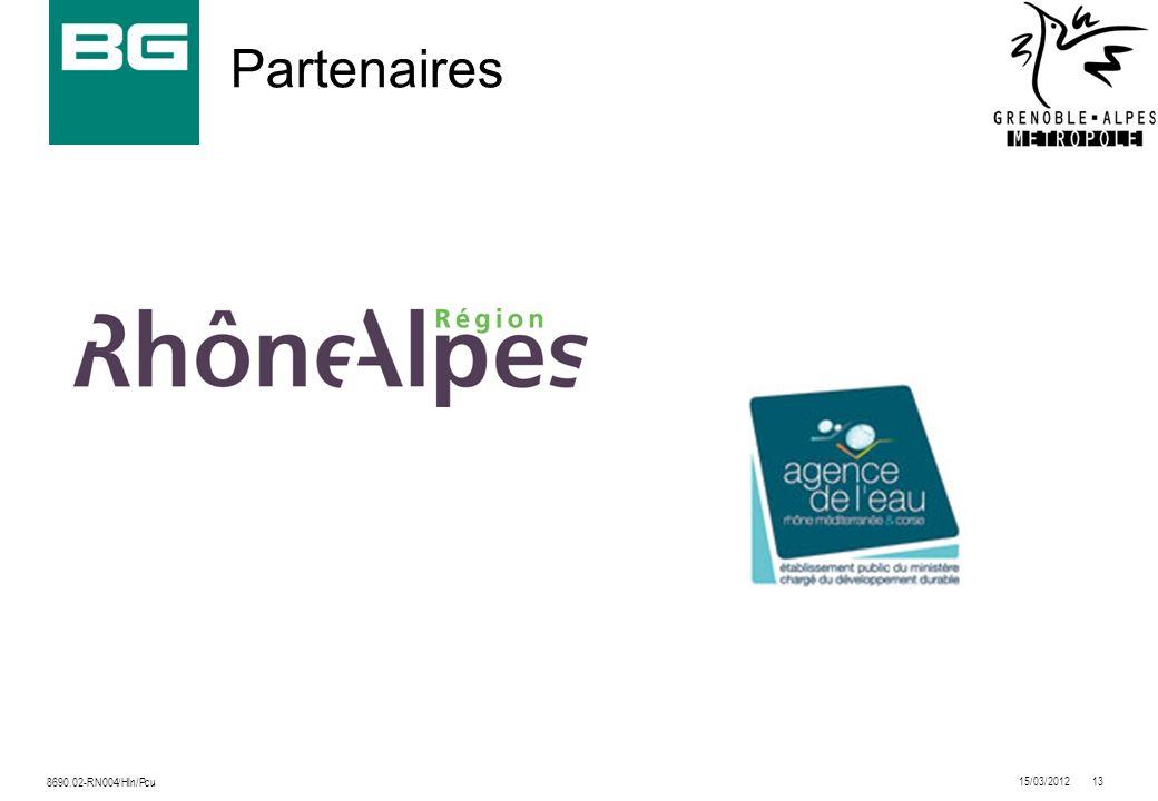 Partenaires 8690.02-RN004/Hln/Pcu 15/03/2012