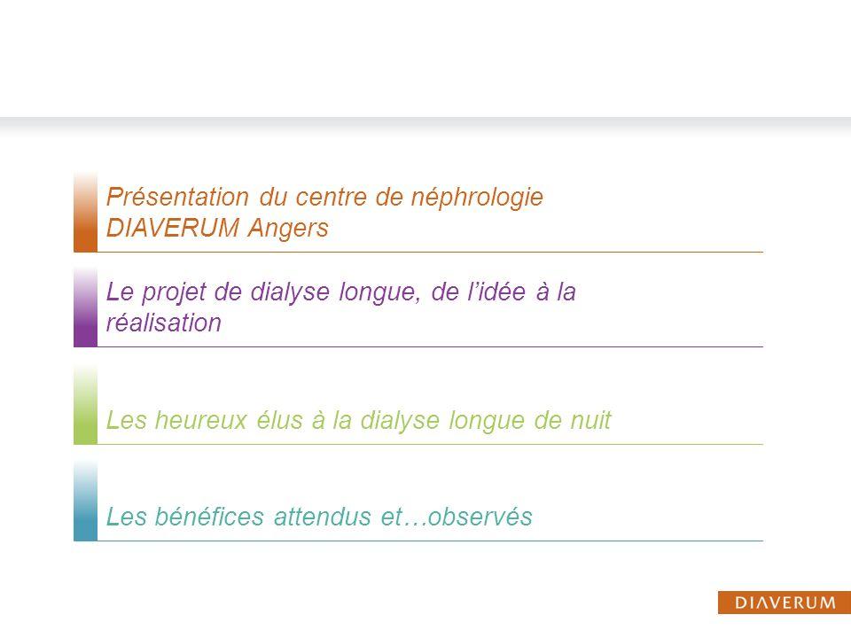 Présentation du centre de néphrologie DIAVERUM Angers