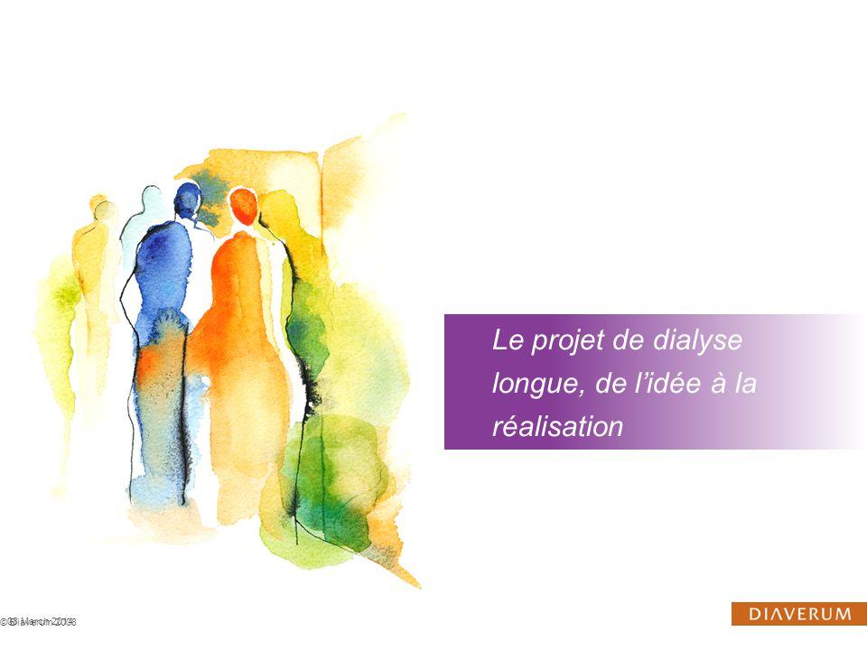 Le projet de dialyse longue, de l'idée à la réalisation