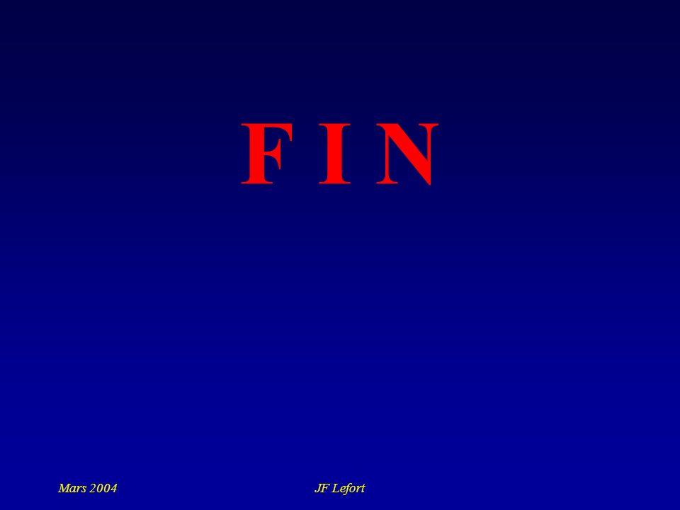 F I N Mars 2004 JF Lefort