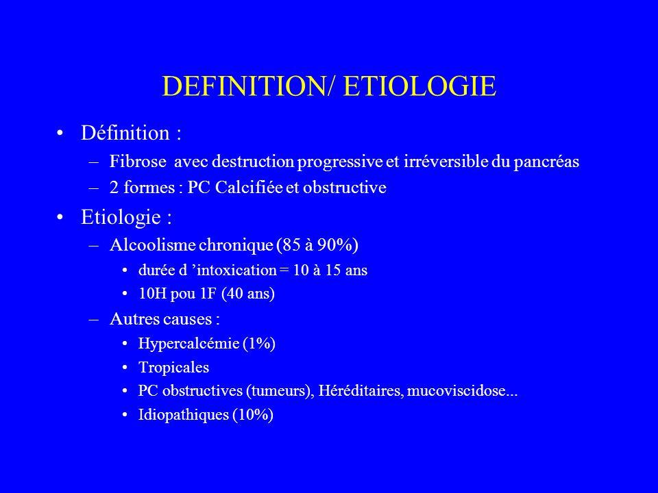 DEFINITION/ ETIOLOGIE