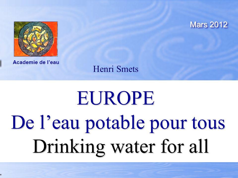 De l'eau potable pour tous
