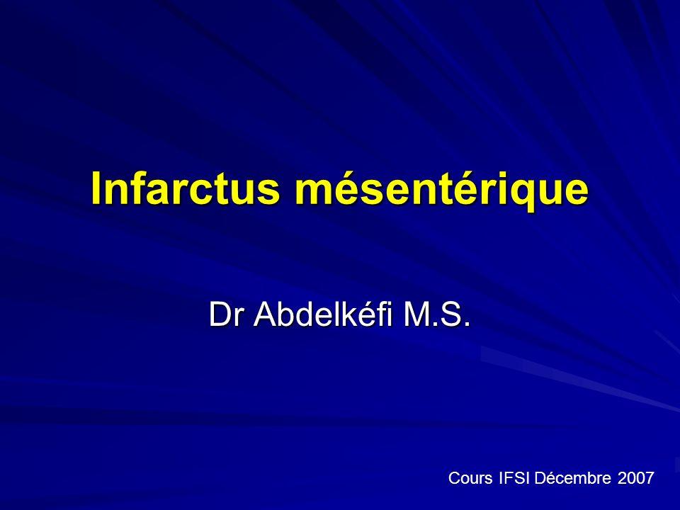 Infarctus mésentérique